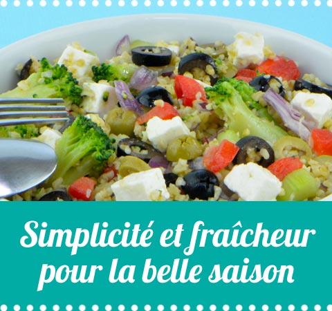 toutes les salades ou verrines de cuisine-facile