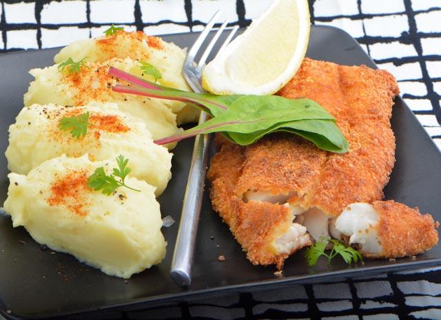Croustillant de julienne la recette facile pour les nuls - Cuisiner filet de julienne ...